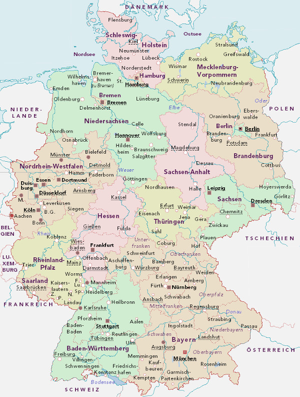 ARA-Organisatoren in Deutschland